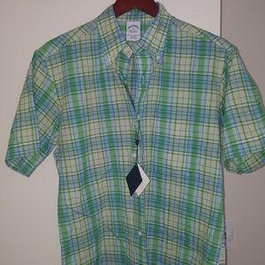 Brooks Brothers Madras Shirt